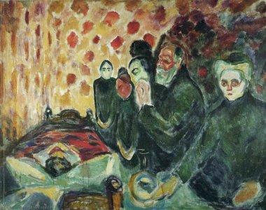 Munch-Vicino-al-letto-della-morte-febbre-1915-Fonte-MunchMuseet.no_.jpg